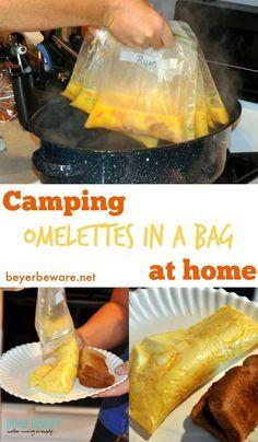 repas en camping