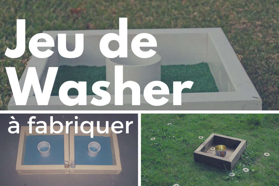 Comment fabriquer un jeu de washer