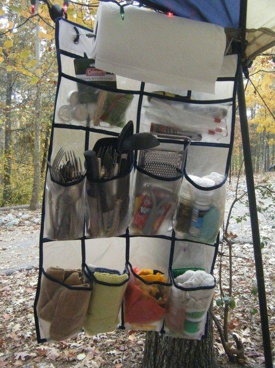 comment bien ranger en camping