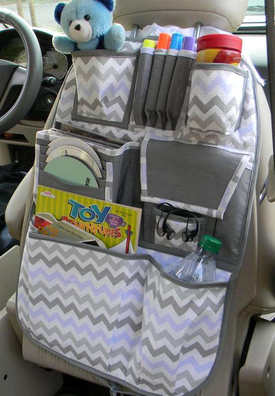 organisateur pour la voiture pour les accessoires des enfants